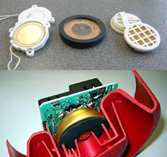 Конструкция пожарных электроакустических преобразователей