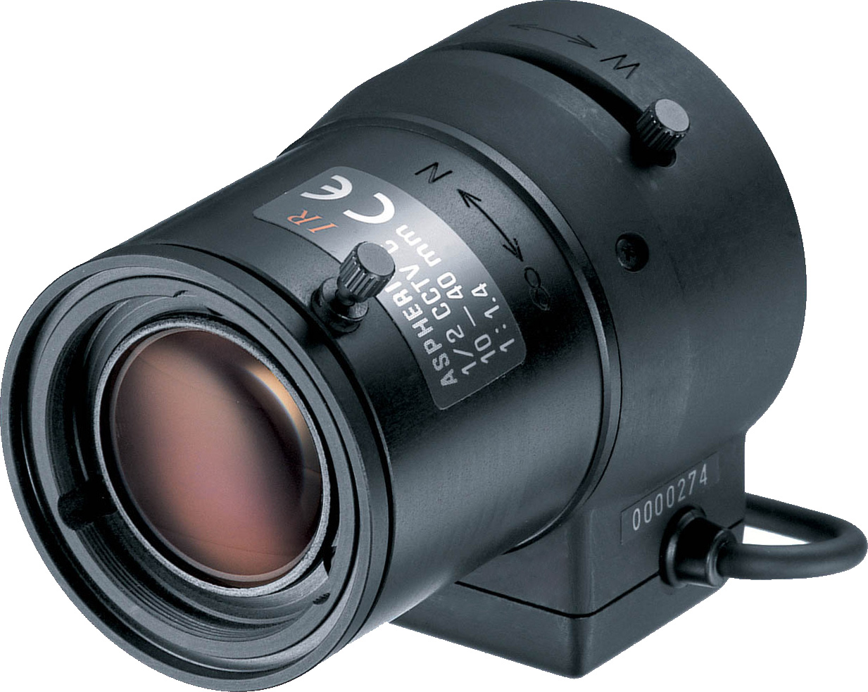 Объектив для камер видеонаблюдения