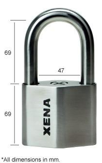 XPL69 Alarmed U-Lock