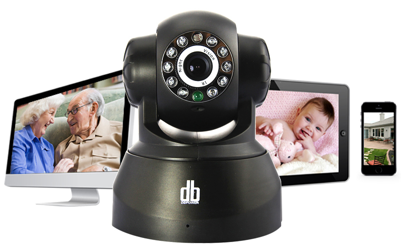 Беспроводная Wi-Fi-камера DB 3.6 мм, ночного видения