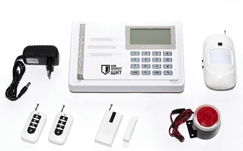 Комплект охранной GSM сигнализации ЩИТ
