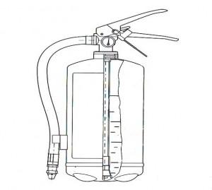 Конструкция воздушно эмульсионного огнетушителя