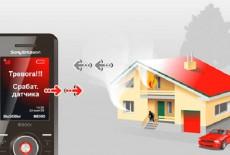 Охранная GSM сигнализация