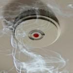 Пожарный дымовой извещатель