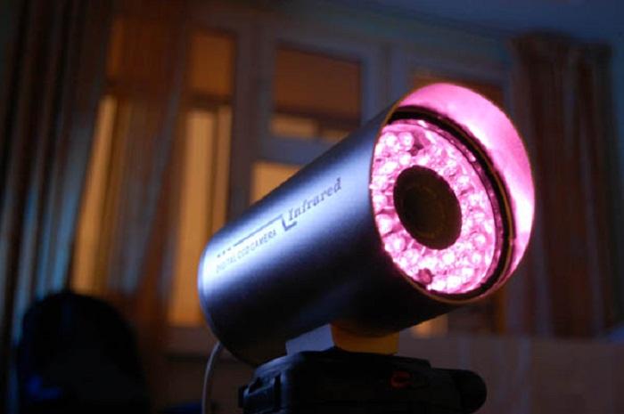 Применение камеры с ИК подсветкой