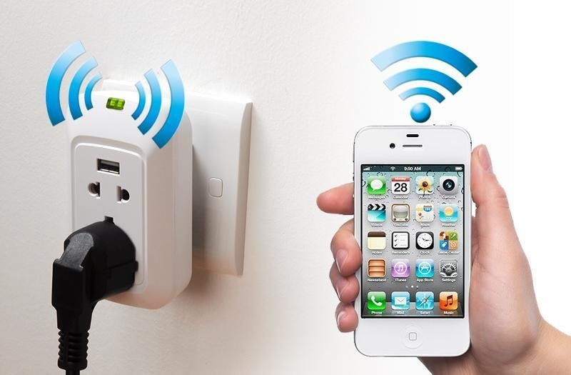 Розетка Iphone WiFi Extender