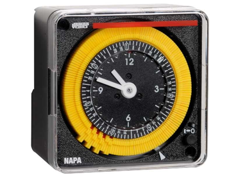 Электромеханическое реле времени NAPA-W VEMER Италия