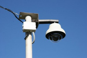 Пример использования купольной камеры