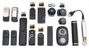 Виды мини-видеокамер