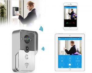 Водонепроницаемый Wifi видео домофон Iphone