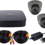 Комплект видеонаблюдения на две камеры