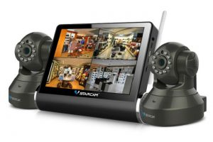 Комплект видеонаблюдения Vstarcam nvs-k200 dvr с сенсорным экраном