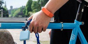 Магнитный замок Lock-RS с отпирающим браслетом