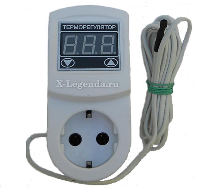 Розетка с выносным термостатом МТР-2 - 16А