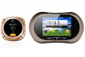 Видеоглазок GSM Protect R02-GSM с SMS и MMS