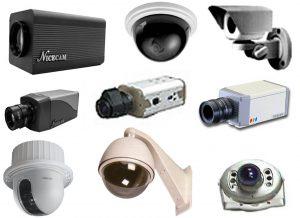 Виды 3G видеокамер
