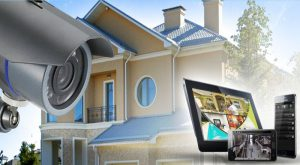 Комплект видеонаблюдения Wi-Fi для дома