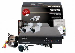 Комплект видеонаблюдения Wi-Fi FALCON EYE FE-104D KIT Light