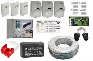 Комплект пультовой сигнализации для загородного дома