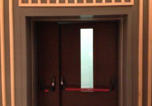 Противопожарные двери для гостиницы