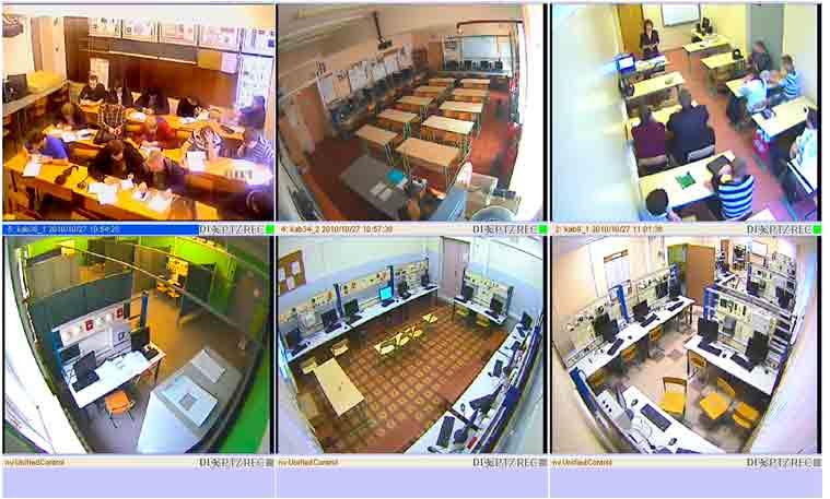 Функции видеонаблюдения для школ