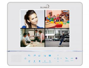 SLINEX GL-08N домофон со встроенным видеорегистратором